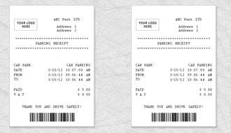 restaurant receipt templates