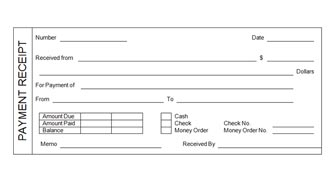 receipt log template .
