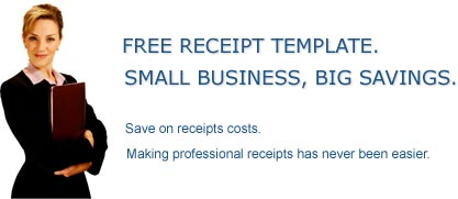 Receipt Template Homepage