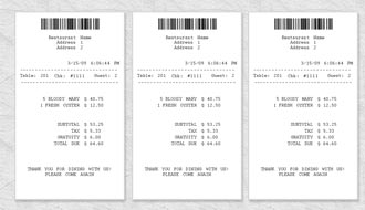 Receipt Template  Blank Reciept