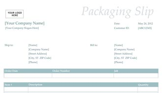 Packing Slip Template sample packing slip added on 24 may 12 packing ...